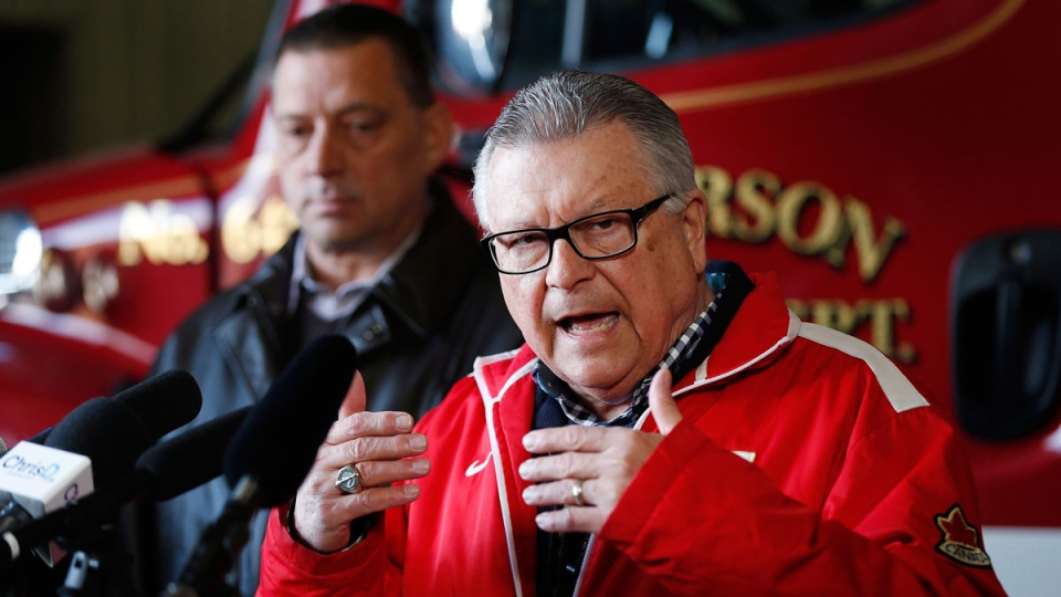 Ralph Goodale, Minister of Public Safety