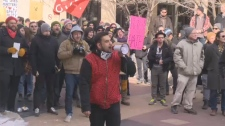 Anti-Islamophobia rally draws hundreds city hall