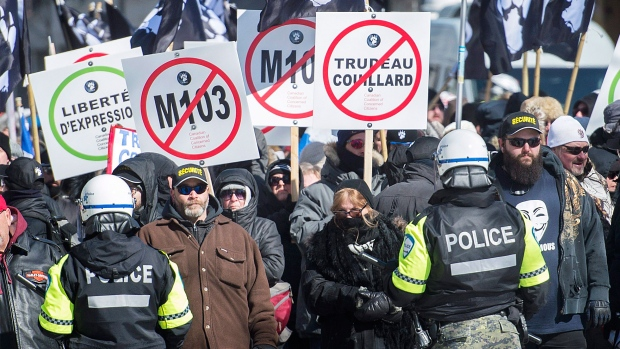 motion M-103 in Montreal,