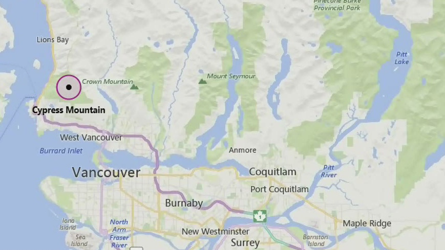 Two hikers rescued after darkness sets in on trail near Cypress Mountain