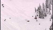 Cypress avalanche skiers offer help