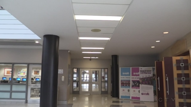Catholic school interior