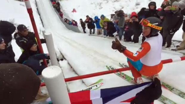 Eddie the Eagle - Canada Olympic Park