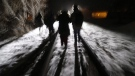 Early Sunday morning, February 26, 2017, eight migrants from Somalia cross into Canada illegally from the United States by walking down this train track into the town of Emerson, Man., where they will seek asylum at Canada Border Services Agency. Manitoba aid agencies are bracing for a fresh wave of refugee claimants coming across the U.S. border as groups struggle to help those who have already made the frigid journey. THE CANADIAN PRESS/John Woods