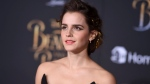 Emma Watson arrives at the world premiere of 'Beauty and the Beast' at the El Capitan Theatre on Thursday, March 2, 2017, in Los Angeles. (Photo by Jordan Strauss/Invision/AP)