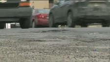 CTV Montreal: Hole-y roads, Batman!
