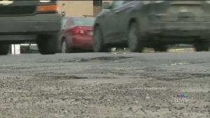 CTV Montreal: Hole-y roads, Batman!