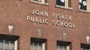 Parents of students at John Fisher Public School are worried their kids will be forced to relocate to a new school due to a nearby construction project.