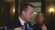 Interim Saskatchewan NDP Leader Trent Wotherspoon
