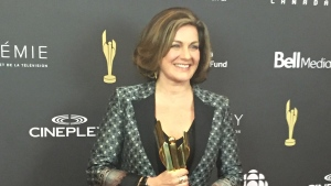 Lisa LaFlamme, senior editor and anchor of CTV National News, at the Canadian Screen Awards in Toronto on Tuesday, March 7, 2017.