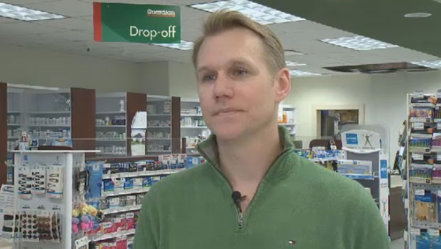 Pharmacy owner Glen Ward says his plan to open a medical clinic was denied by the N.S. health department.