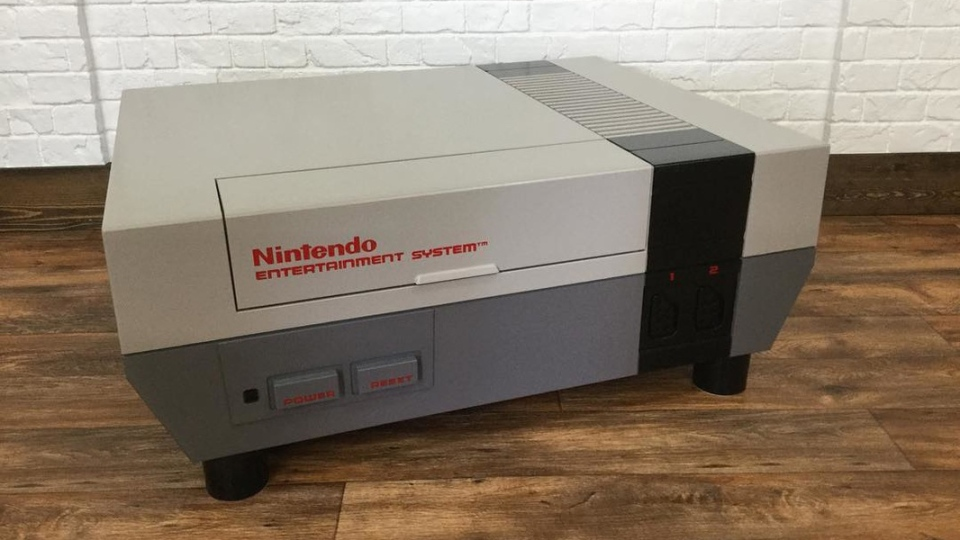 This giant 1980s Nintendo console is actually a coffee table