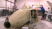 Avro Arrow rebuild - Calgary