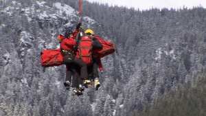 Extended: Skiers rescued from Cypress avalanche