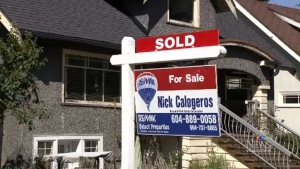 The national average price for a home sold in Canada in October was $505,937.