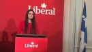 Emmanuella Lambropoulos was a surprise win for the Liberal candidate in the St-Laurent riding.
