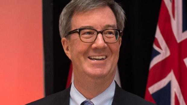 Ottawa's mayor Jim Watson
