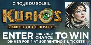 Kurios by Cirque du Soleil - Contest