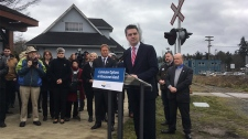 e&n rail line announcement