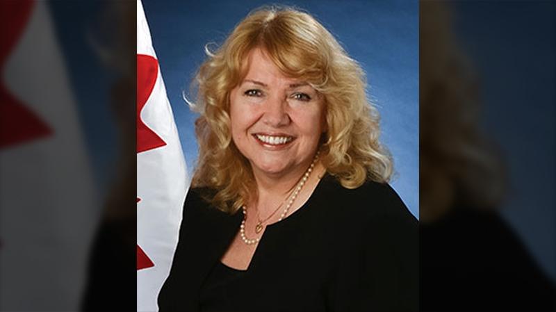 Conservative Senator Lynn Beyak, who represents Ontario.