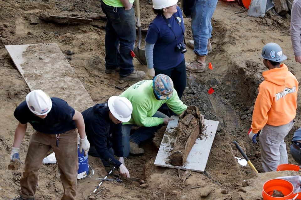 Philadelphia coffins