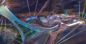 The ski ramp project for the Olympic Stadium remains up in the air. (photo: City of Montreal)
