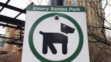 Confusing signage in Vancouver's dog parks