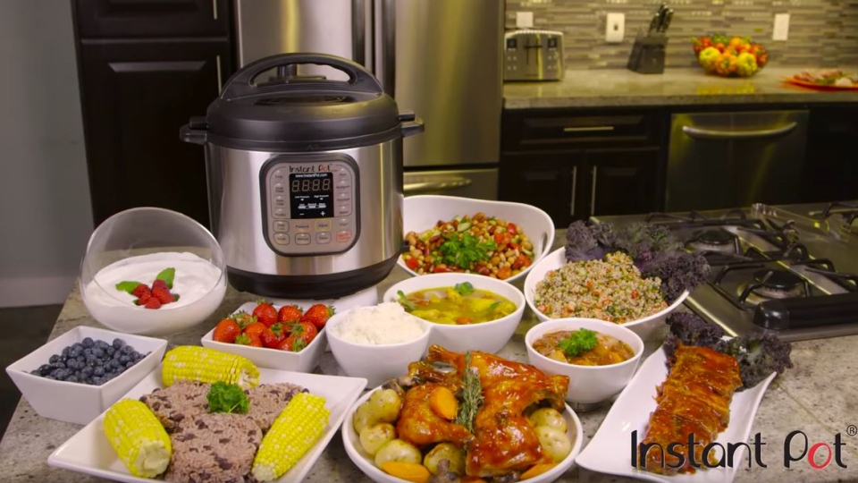 The Instant Pot is marketed as a steaming, sautéing, slow-cooking, yogurt-making, food-warming, pressure-cooking all-in-one kitchen appliance. (Instant Pot)