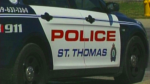 St. Thomas police cruiser