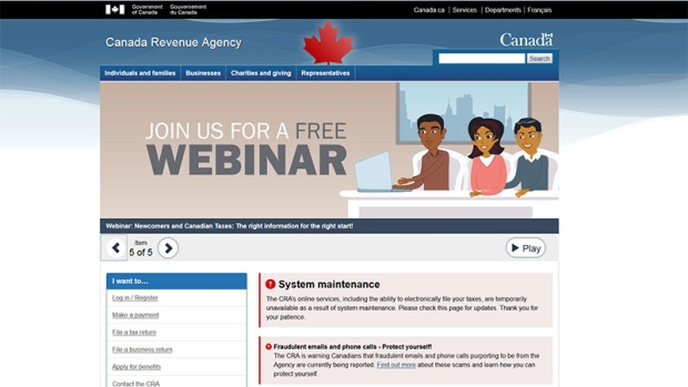 CRA website back online after potential security risk caused shutdown