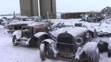 Bert Curtiss - fire damaged classic car collection