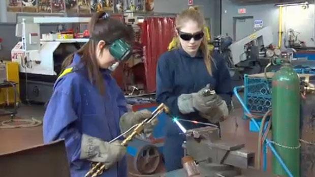 High school welders - Calgary