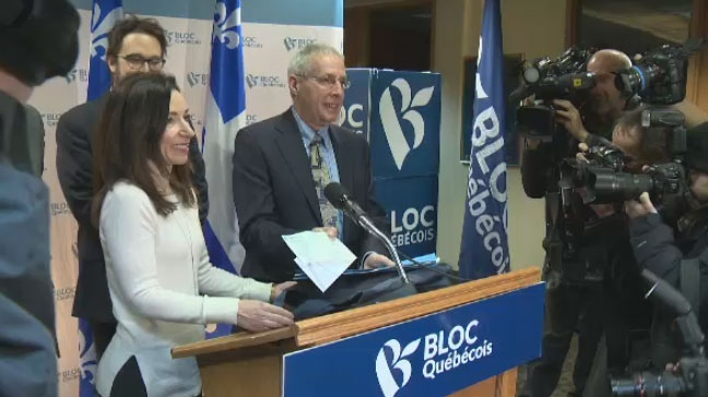 Martine Ouellet will be officially named leader of the Bloc Quebecois on Saturday after running for the position unopposed.