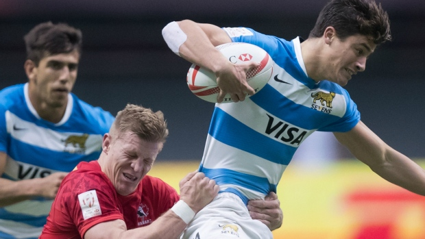 Canada falls to Argentina in Rugby 7s