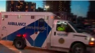 A Toronto Paramedic Services ambulance is pictured.