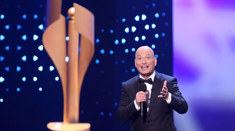 Howie Mandel speaks during the opening of the 2017 Canadian Screen Awards in Toronto on Sunday, March 12, 2017. (THE CANADIAN PRESS/Peter Power)