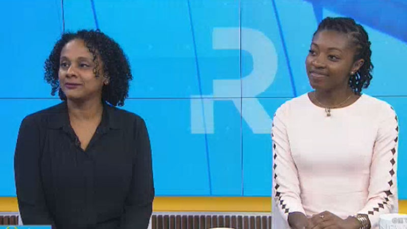 Dr. Lisa Robinson, chief diversity officer in the U of T faculty of medicine, and med student, Chika Oriuwa, speak to CTV Your Morning