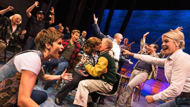 Come From Away Broadway debut