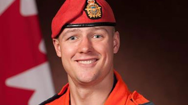 Master-Corporal Alfred Barr, 31, died March 8 during a routine jump near Yorkton, Sask. (Source: 17 Wing Imaging)