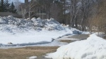 Fredericton snow