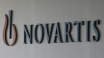 The logo of Swiss pharmaceutical company Novartis is seen at the Novartis Korea office in Seoul, South Korea on Saturday, Aug. 13, 2016. (AP / Ahn Young-joon)