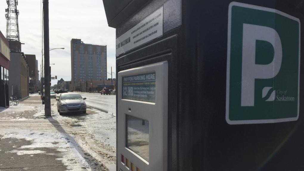 Flexparking station in Saskatoon