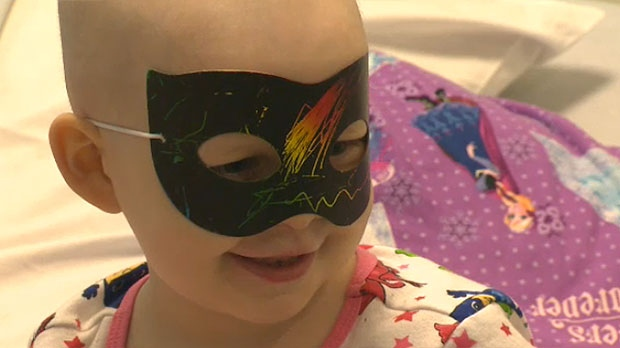 Calgary family seeks support to send little girl to States for cancer treatment Calgary