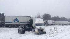 Crash near Kingston, Ont.