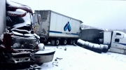 A pile-up on one of Canada's busiest highways turn
