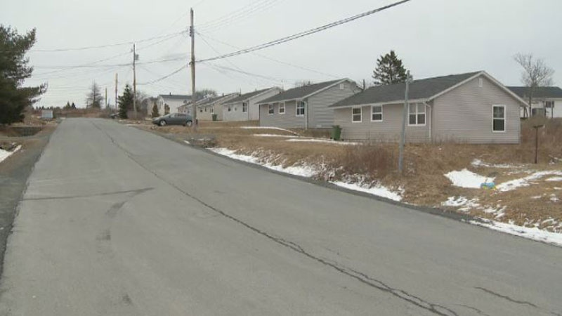Police received a report shortly after 1 a.m. Tuesday that gunshots had been fired at a home on Cain Street in North Preston, N.S.