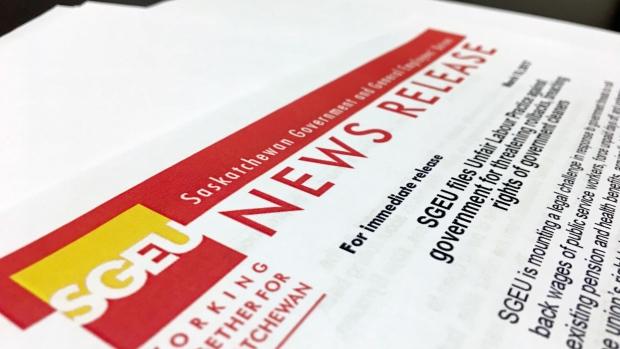 SGEU unfair labour practice news release