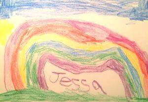 Weather art by Jessa.