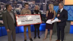 CTV Ottawa: Myers Amazing Kid: Luke Savoie