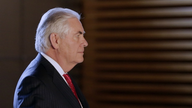 Rex Tillerson addresses Asian allies turing visit